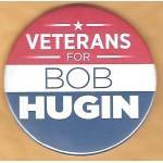 NJ 11Q - Veterans For Bob Hugin Campaign Button