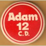 NJ 23R - Adam 12 C.D. Campaign Button