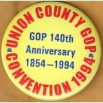 NJ 46J - Union County GOP Convention 1994 Campaign Button