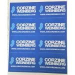 NJ 70D - Corzine Weinberg Lapel Stickers