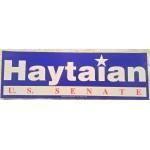 NJ 71D - Haytaian U.S. Senate  Bumper Sticker