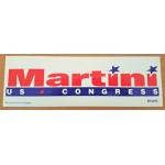 NJ 67B - Martin US Congress  Bumper Sticker