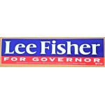 OH 5W - Lee Fisher For Governor  Bumper Sticker