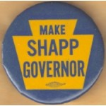 PA 5D - Make Shapp Governor Campaign Button
