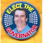 CA 1A - Elect The Governator Campaign Button