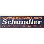 NJ 41J - Schundler Governor Bumper Sticker