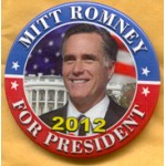 Romney 2B - Mitt Romney For President 2012 Campaign Button