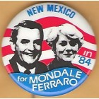 Walter Mondale Campaign Buttons (23)