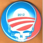 Obama 9J - 2012  Campaign Button