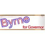 NJ 1T - Byrne for Governor Bumper Sticker