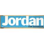 NJ 2Q - Jordan For Governor Bumper Sticker