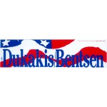 Dukakis 15F - Dukakis Bentsen Bumper Sticker