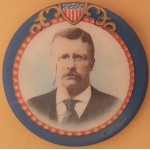 T.R. 2G - (Teddy Roosevelt) Campaign Button