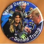 Trump 12J - Hallie Deegan Donald Trump Campaign Button