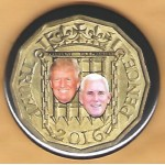 Trump 18H - Trump  Pence 2016 Campaign Button