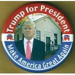 Trump 1D - Trump for President Make America Great Again Campaign Button
