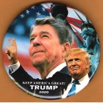 Trump 22D - Keep America Great! Trump 2020 Campaign Button