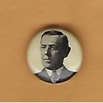 Wilson 5E - (Woodrow Wilson) Campaign Button