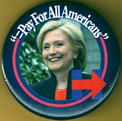 Hillary Clinton 2016 Campaign Button