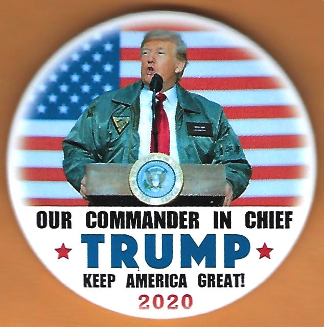 Donald Trump 2020 Campaign Button